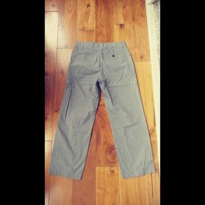 Banana Republic Pants - Banana Republic Gray PinStripe Pants